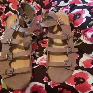 Torrid sandal sz 13 NEW!